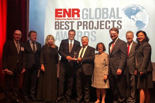 Finalist and Winner of 2018 ENR Global Project Awards